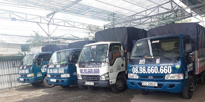 Hệ  thống xe taxi tải quận 1 giá rẻ tại Sài Gòn Thành Công