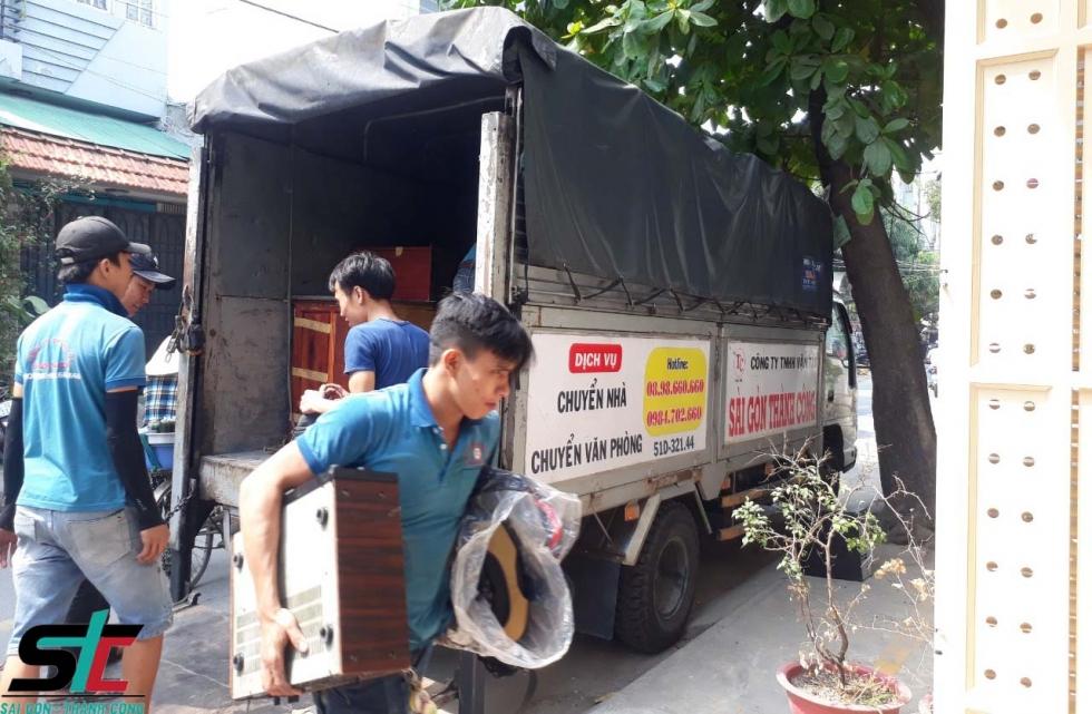 Dịch vụ chuyển nhà trọn gói giá rẻ TPHCM tại Thành Công