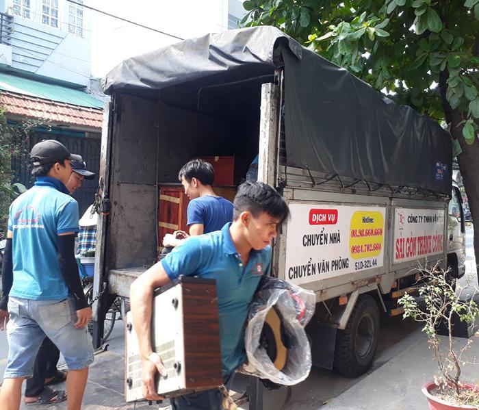 Dịch vụ taxi tải quận 1 giá rẻ tại Sài Gòn Thành Công