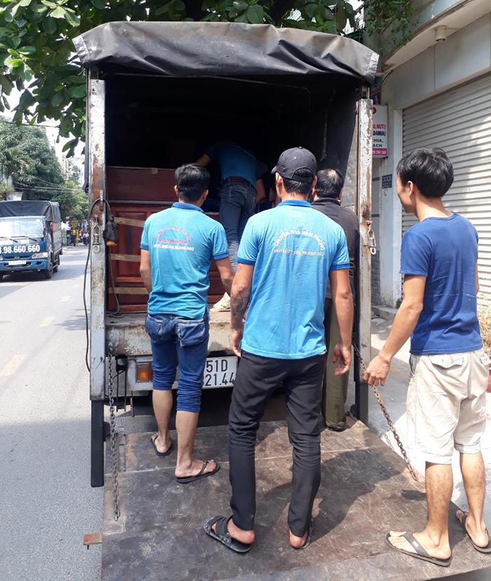 dịch vụ chuyển nhà trọn gói giá rẻ quận 4 tại Sài Gòn Thành Công