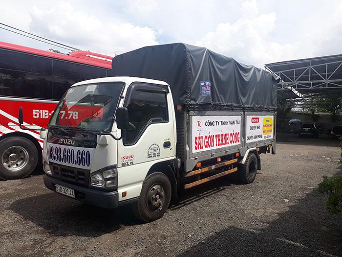 Dịch vụ taxi tải quận 10 giá rẻ tại Sài Gòn Thành Công.