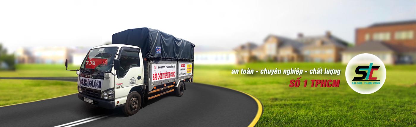 Dịch vụ tax tải chuyển nhà trọn gói giá rẻ TPHCM tại Thành Công